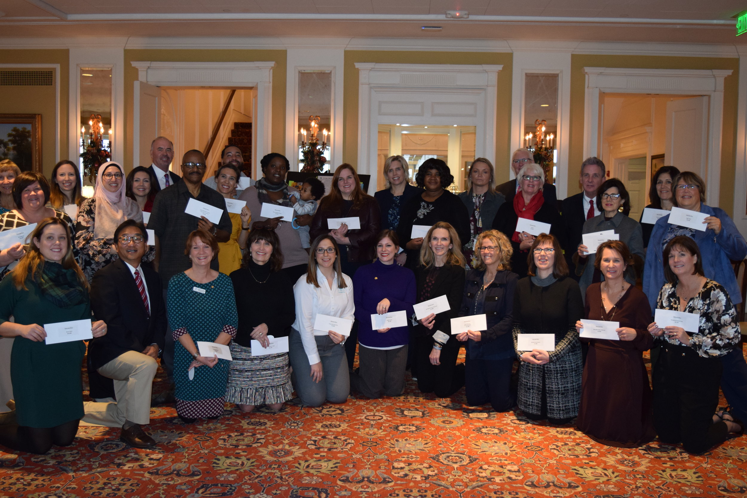 Oakland Hills Country Club awarded 28 organizations with grants.