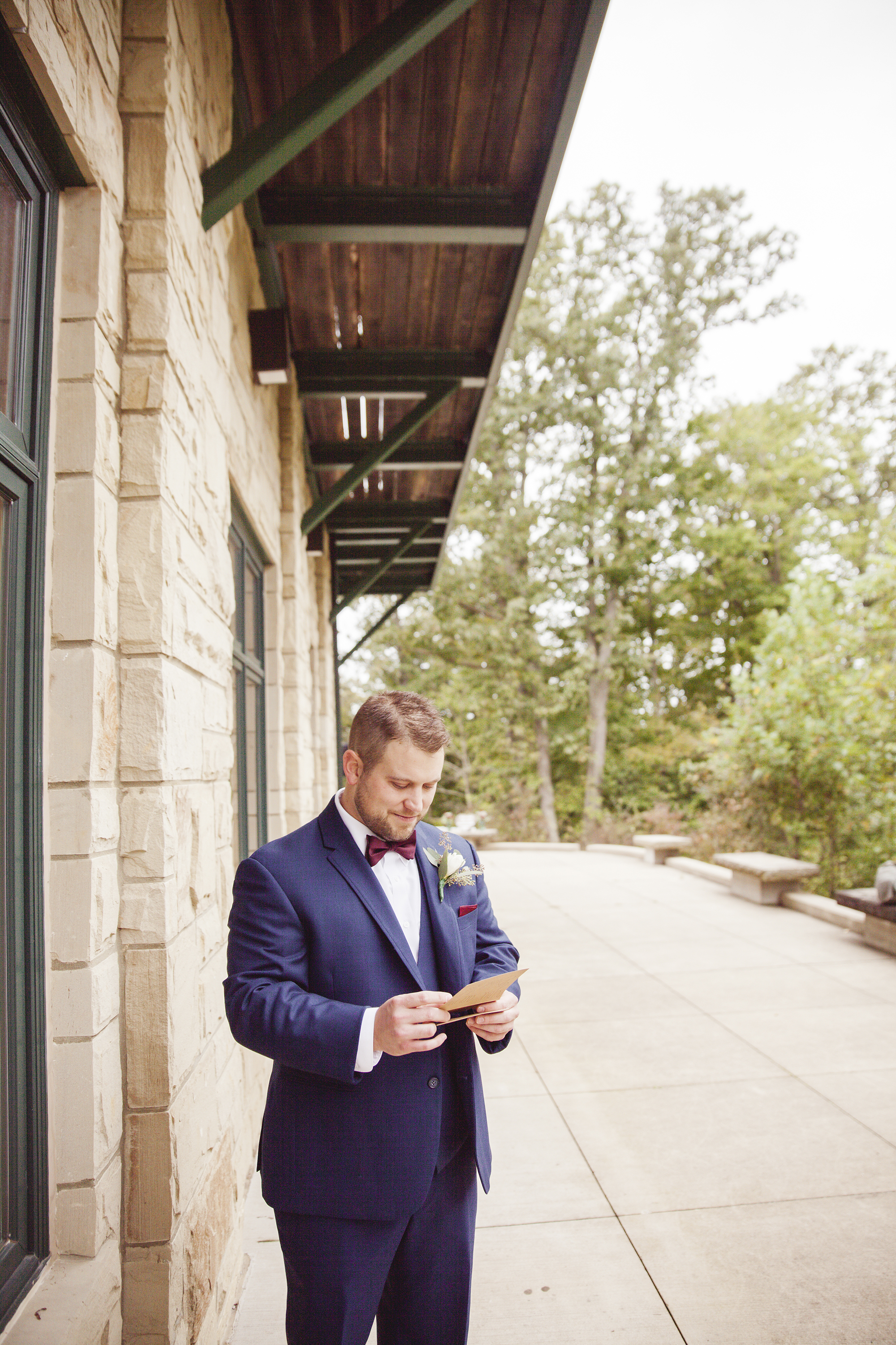 bride and groom vows private athens ohio wedding photographer