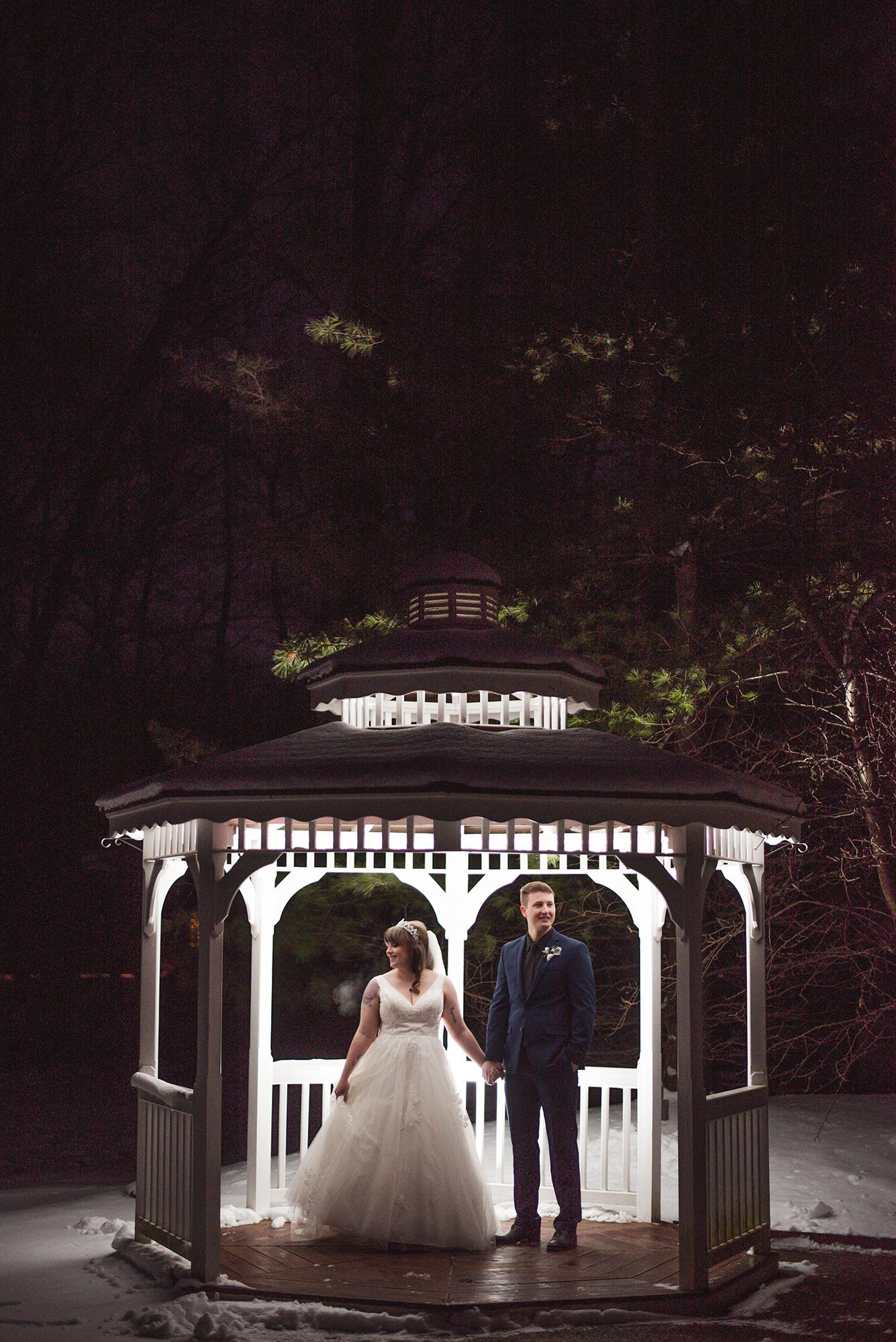 night wedding photographer