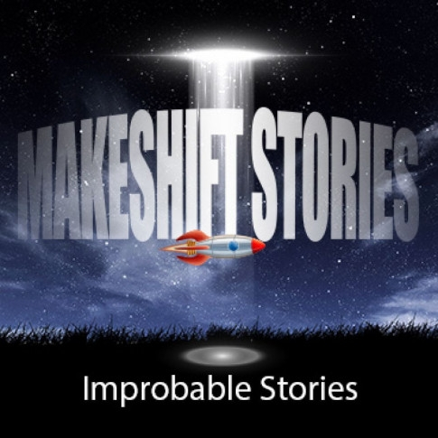 Makeshift Stories - A biweekly journey into the improbable; speculative fiction, sci-fi & fantasy stories for all ages. Created by Alan V Hare.