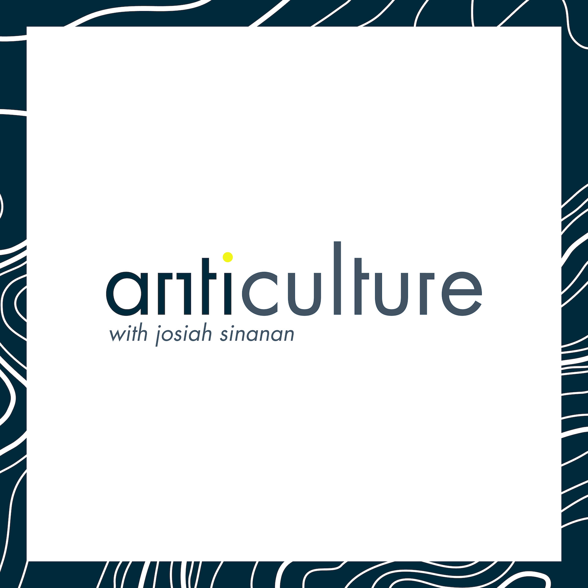 anticulture - The cultural podcast that seeks to re-establish the North American concept of culture, by focusing on the stories of the unique individuals around us. Hosted by Josiah Sinanan.