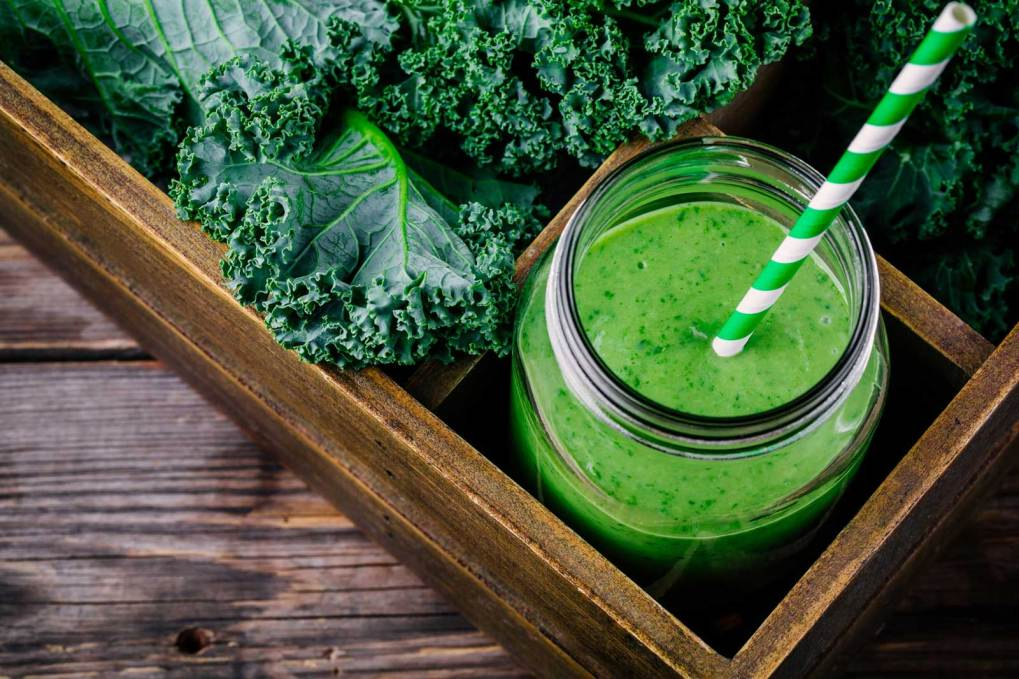 Super Food Smoothies - You will be able to get freshly made green smoothies: only $1 per cup