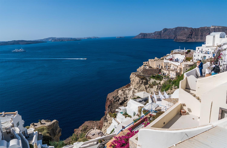 Santorini   Destination Wedding