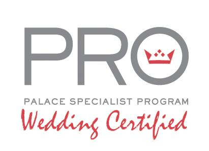 PRO Palace Specialist Program | Wedding Certified