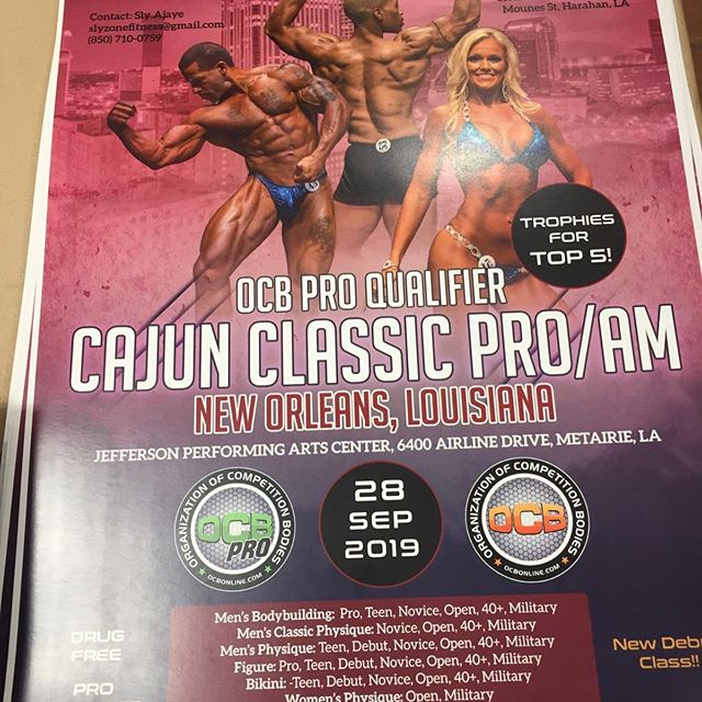 Visit us today in Jacksonville at the OCB Pro qualifier with @dynamicfitness and @theproteinza  #bodybuilding #ocb #ocbbikini #ocbbodybuilding #jacksonville #jax #proteinza #highprotein #lowcarb #pizza