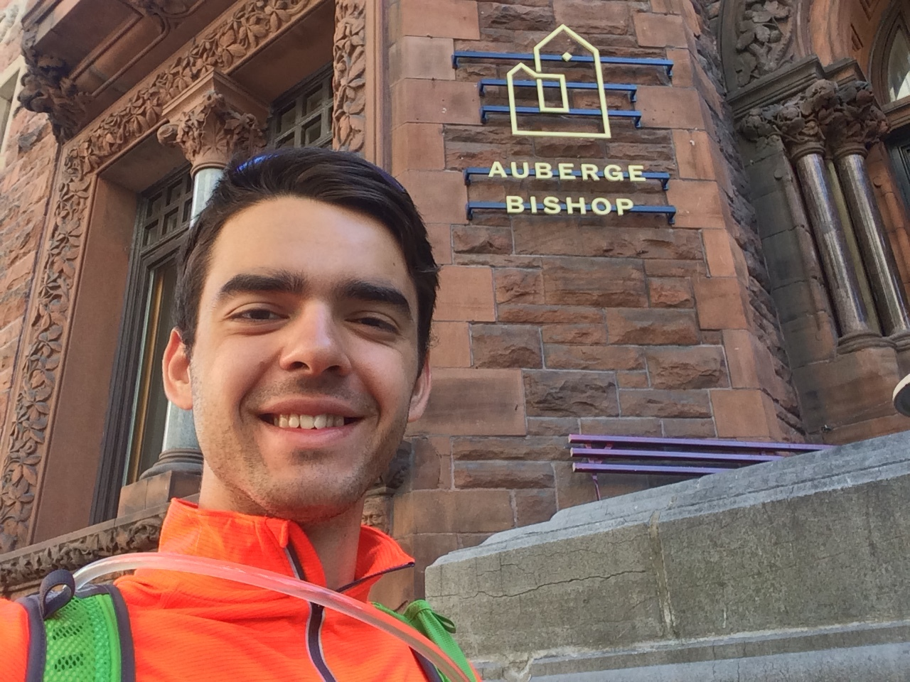 Thank you so much to Auberge Bishop in Montreal for hosting me! This was definitely one of the best hostels I've ever been in, and their unlimited morning bagels and coffee basically sent me to heaven. Please check them out if you're ever in Montreal - thanks again Auberge Bishop for your support!
