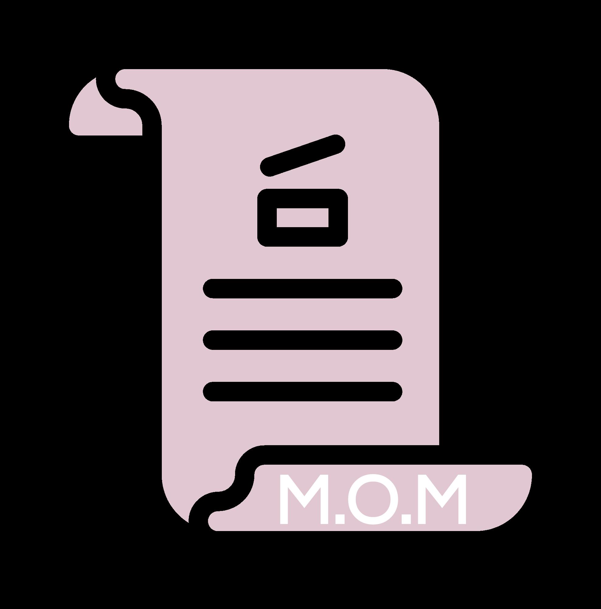 Copy of Copy of M.O.M