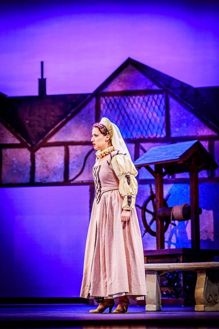 Phoebe ( The Yeomen of the Guard ) at Winter Opera Saint Louis (Credit: Riq Dilly)