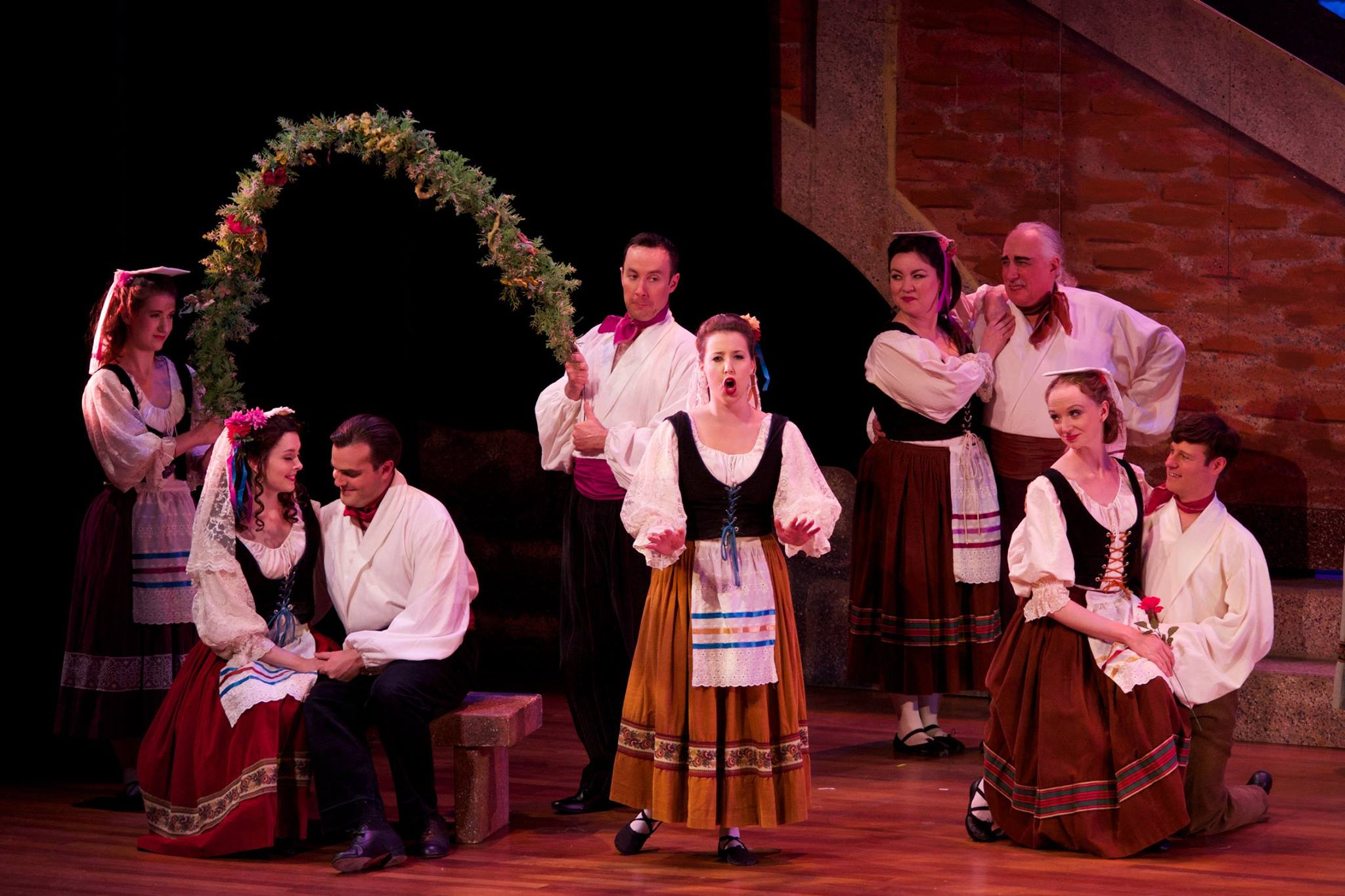 Tessa ( The Gondoliers ) at Skirball Center for the Performing Arts (Credit: William Reynolds)