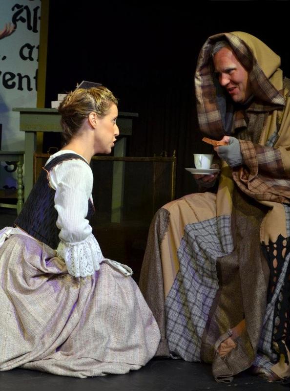 Cenerentola at Quisisana, Maine, with Marshall Taylor as Alidoro. (Credit: Robert Stone)