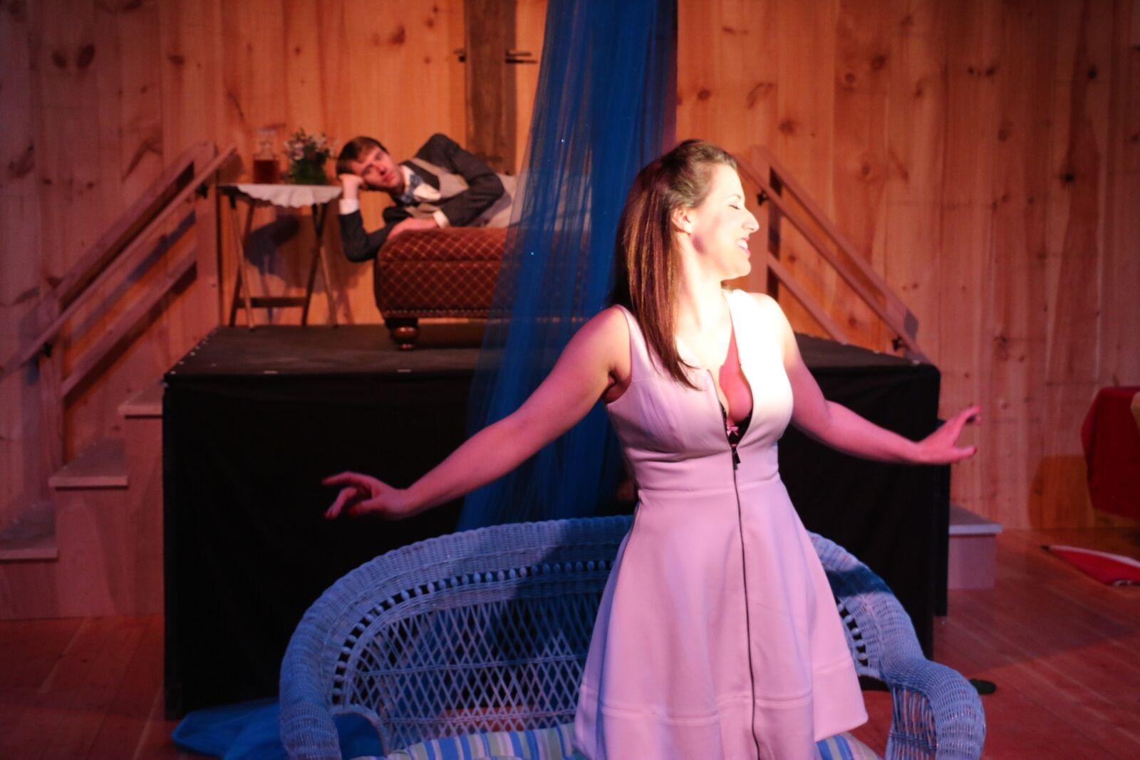 Petra ( A Little Night Music ) at Madison Lyric Stage (Credit: Cathi Bosco)