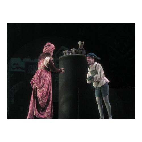 Operatic debut as Oberto ( Alcina ), Oberlin Opera Theater, Oberlin Conservatory