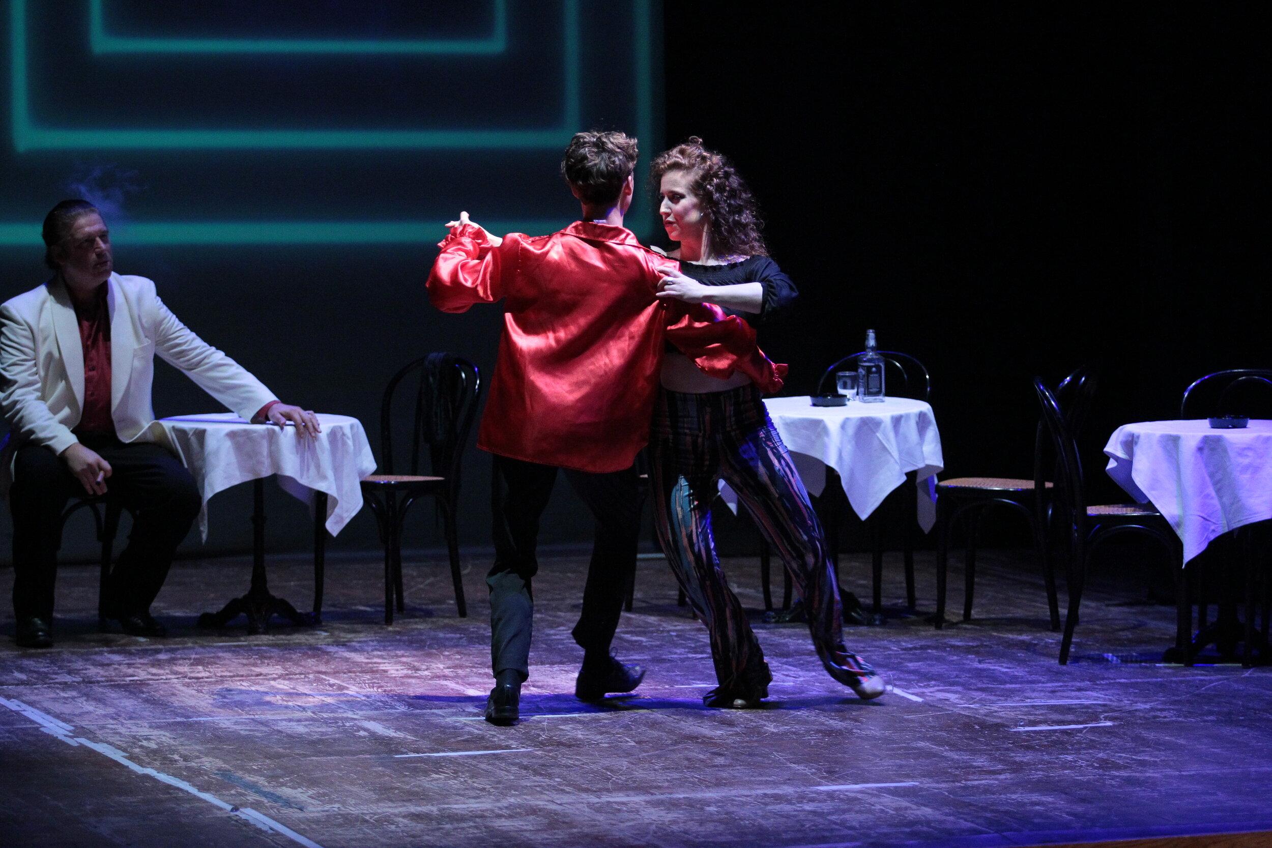 Carmen dances