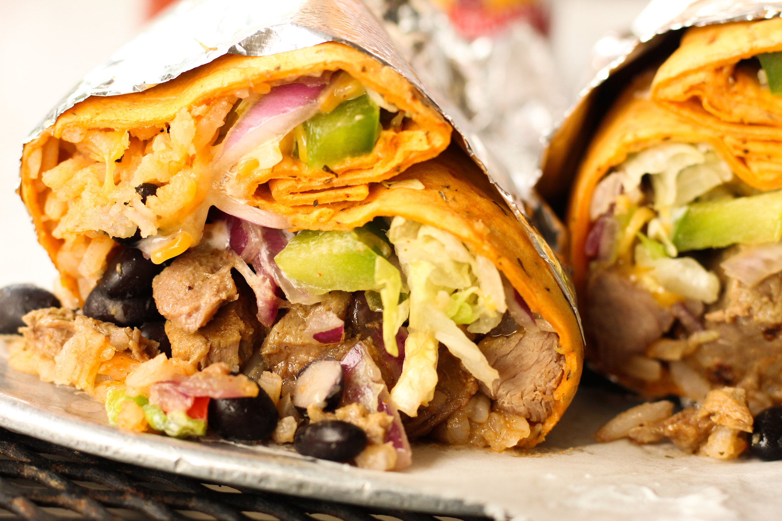 Booyas started as a burrito restaurant, and has grown to include a dozen more delicious menu items.