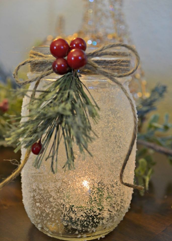 Holiday Mason Jars - Free for all attendees to create and take home