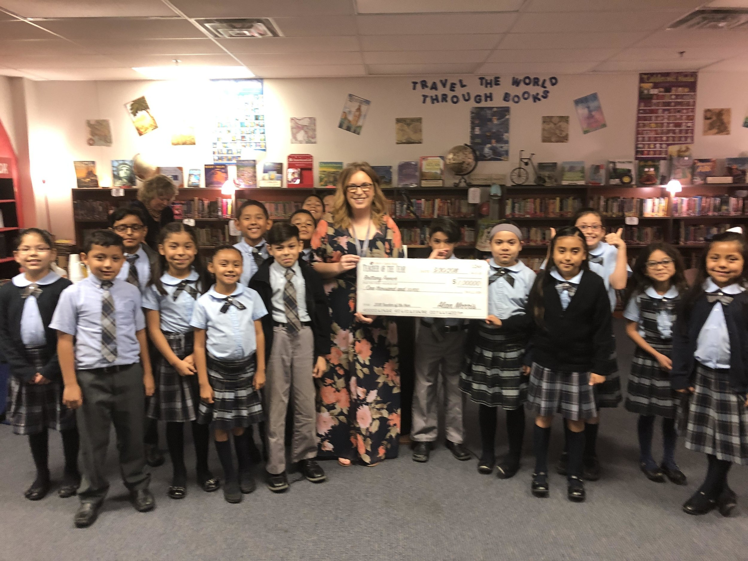 Liberty Capital Bank Teacher of the Year 2018 Award Ceremony