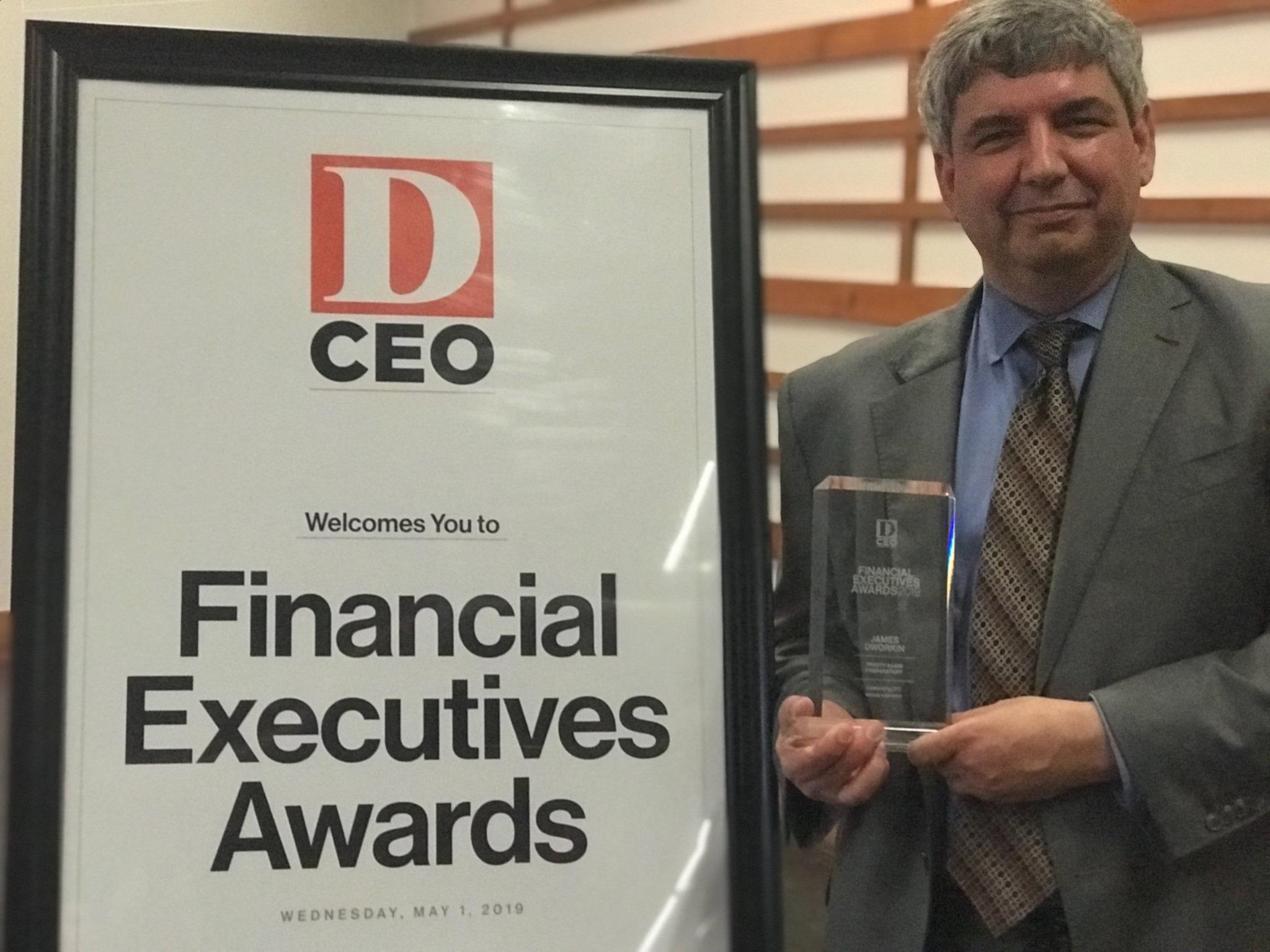 D CEO 2019 Financial Executives Award Ceremony