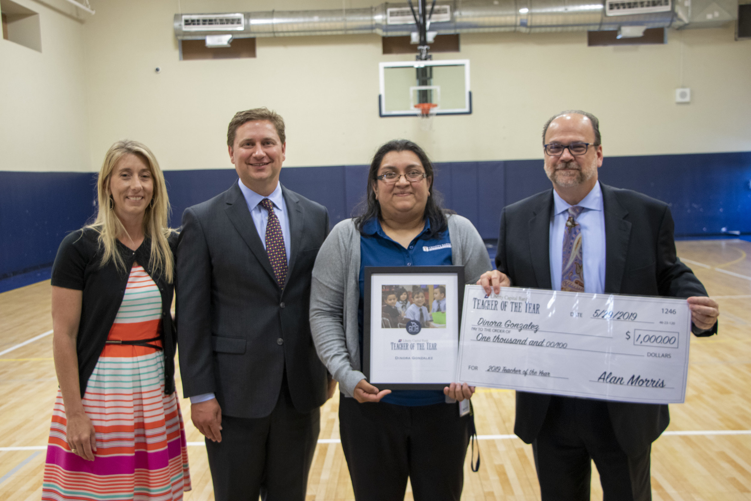 Liberty Capital Bank Teacher of the Year 2019 Award Ceremony