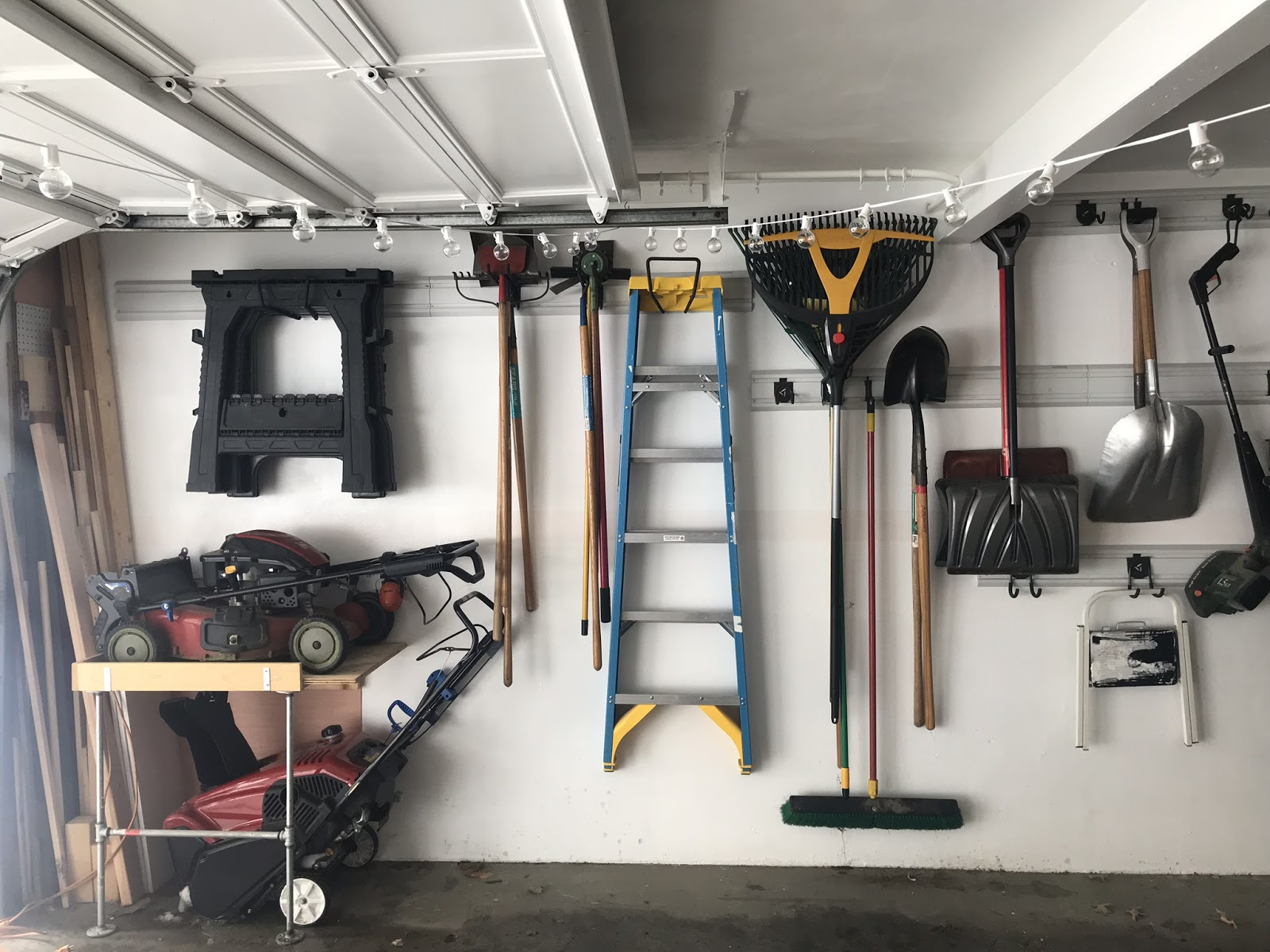 Check out these examples of the     Gladiator System     in my garage!