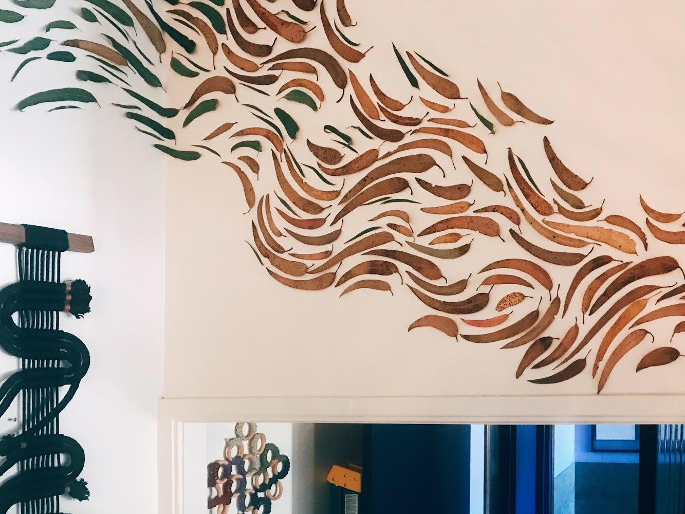Windy Chien Leaf Mural - BOTANICAL / NOVEMBER 15 2017