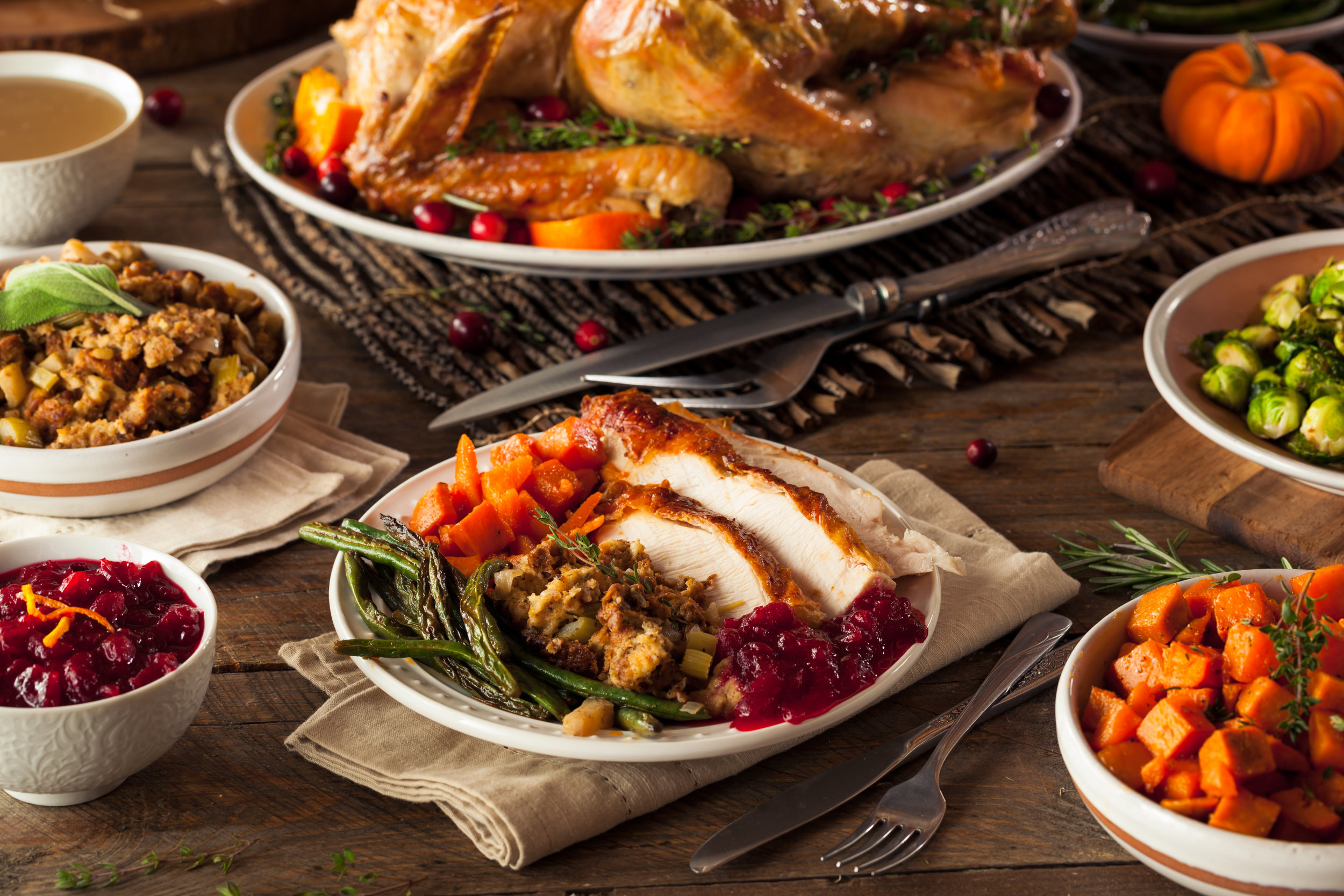 Thanksgiving Catering at BRQ