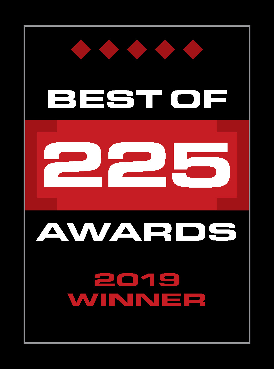 Best of 225 Winner 2019