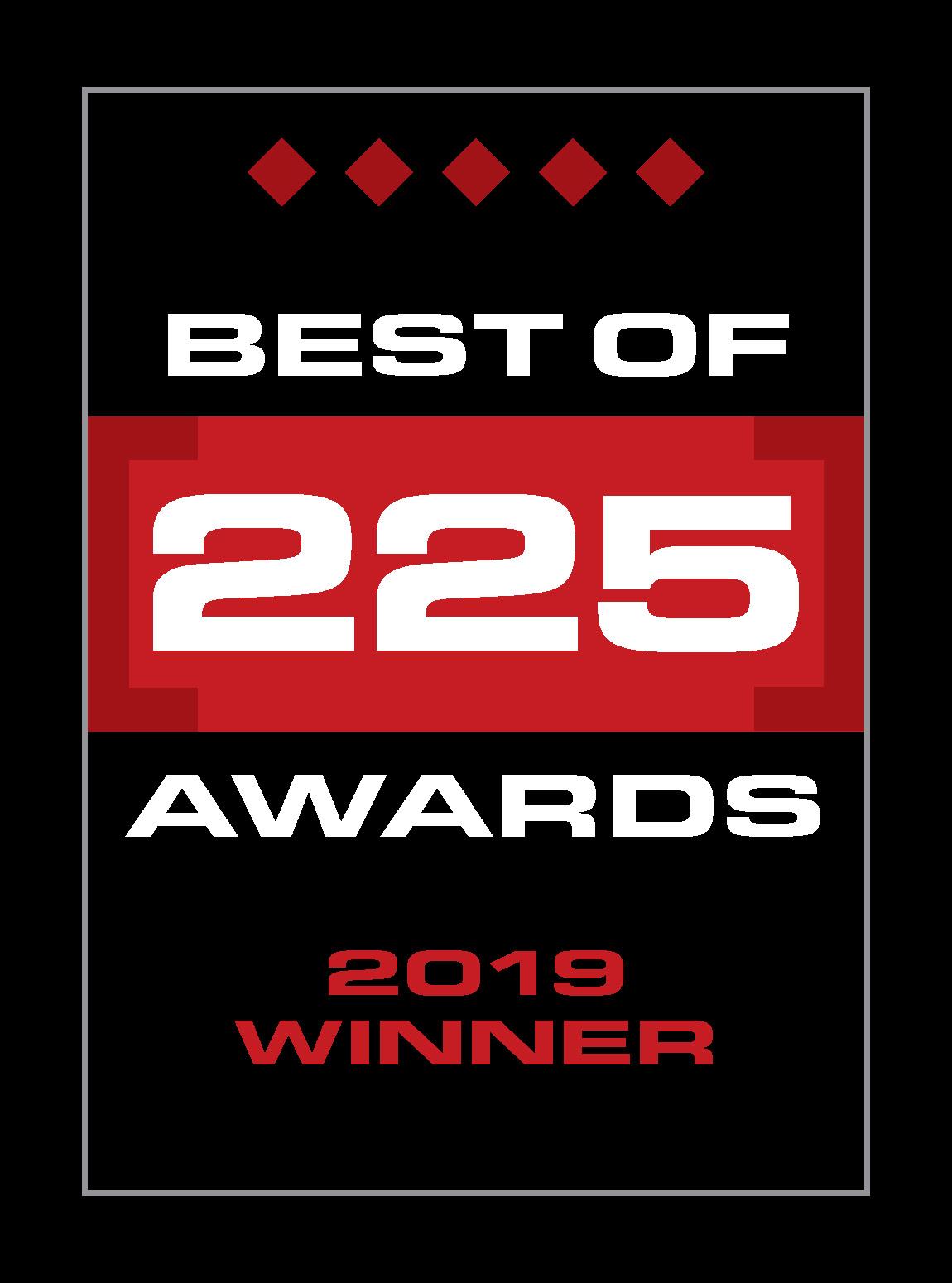 Best of 225 Winner 2019