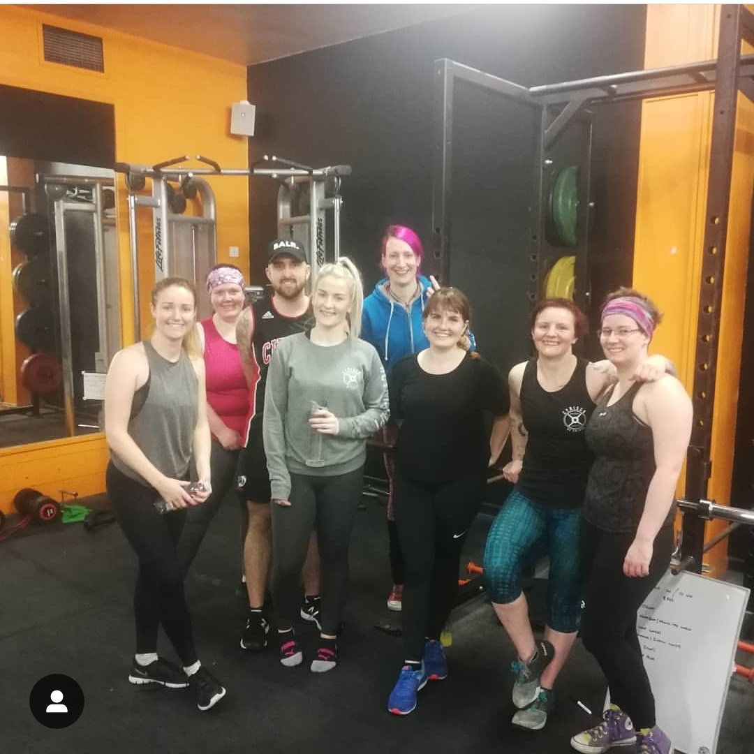 GROUP PERSONAL TRAINING - £15 per session