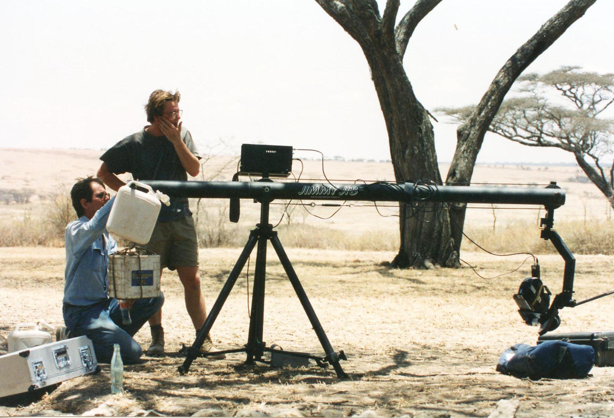 Producer 'AFRICAS PARADISE OF THORNS' NGTV 1996 - A 50' film about the wildlife of Tanzania's acacia woodlands.Executive producer : Hugo van Lawick