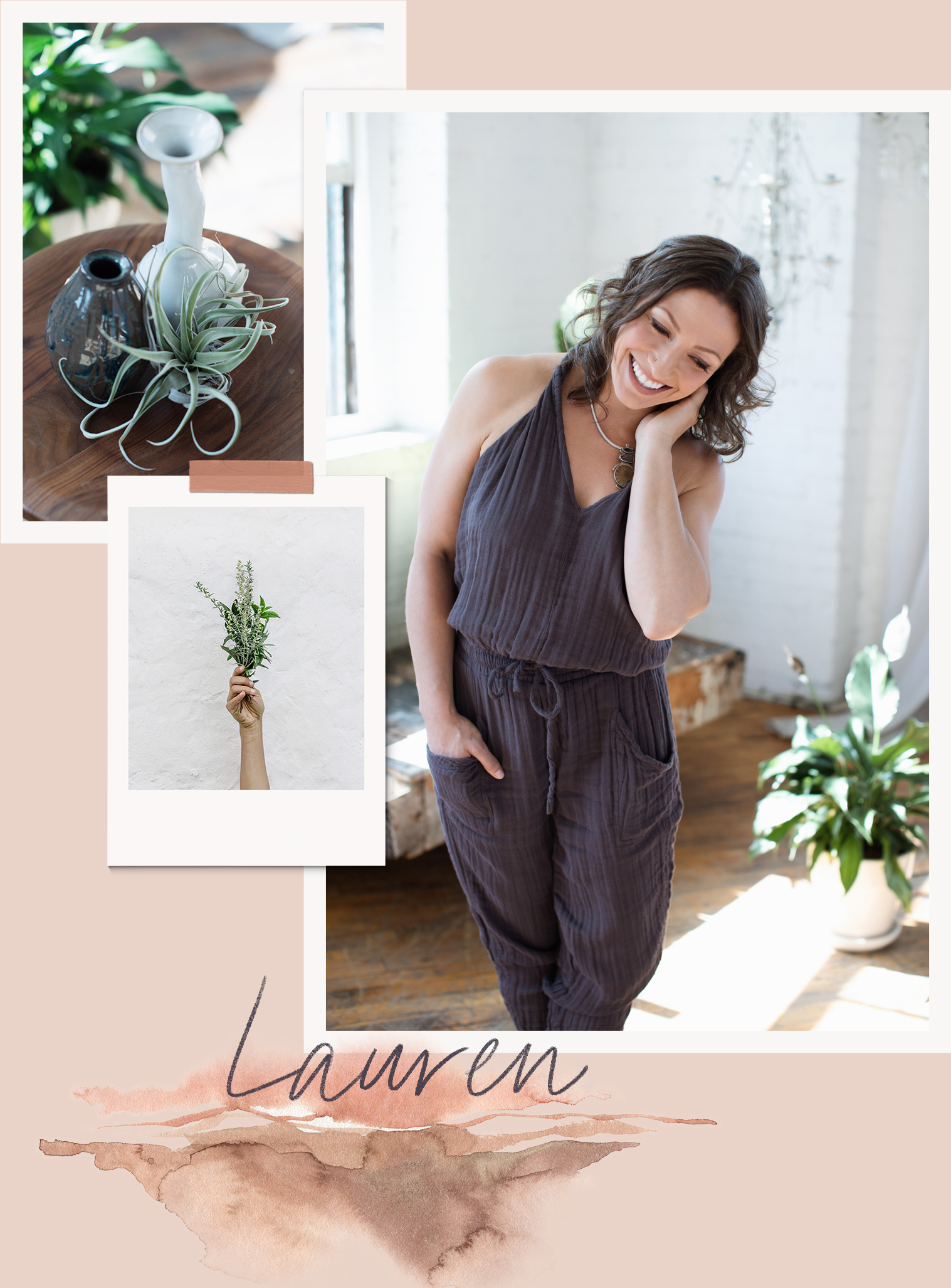 Meet Lauren - Lauren is a whole-being  embodiment coach and mindfulness instructor. She combines sustainability system concepts with consciousness theory to support her clients' personal and professional development.