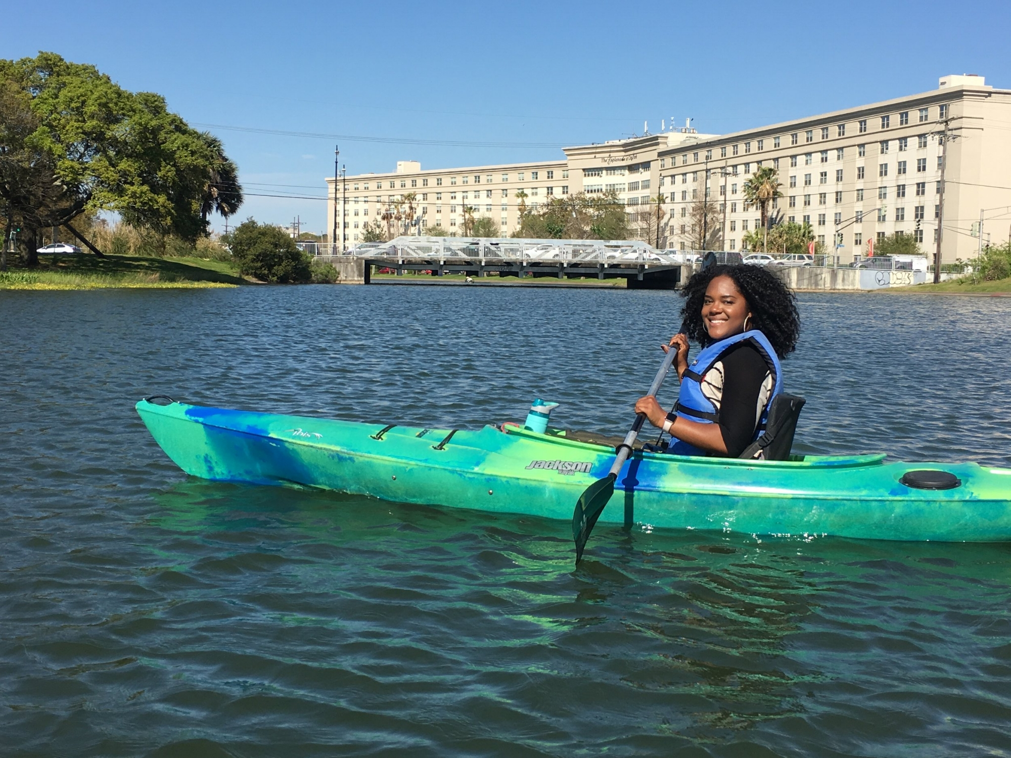 Kayaking in New Orleans