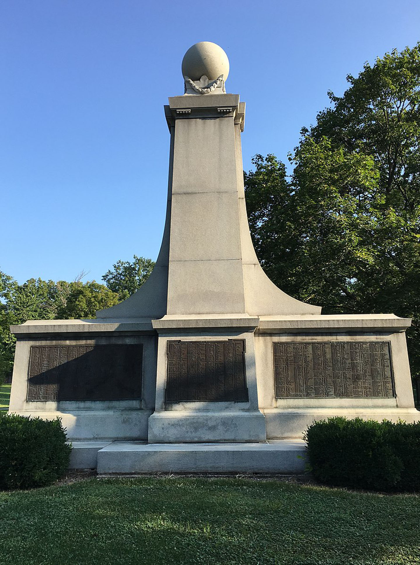 - After a call for removal of the Garfield Park's memorial, the Indianapolis Parks and Recreation department is exploring options to remove a monument memorializing the deaths of Confederate prisoners of war.