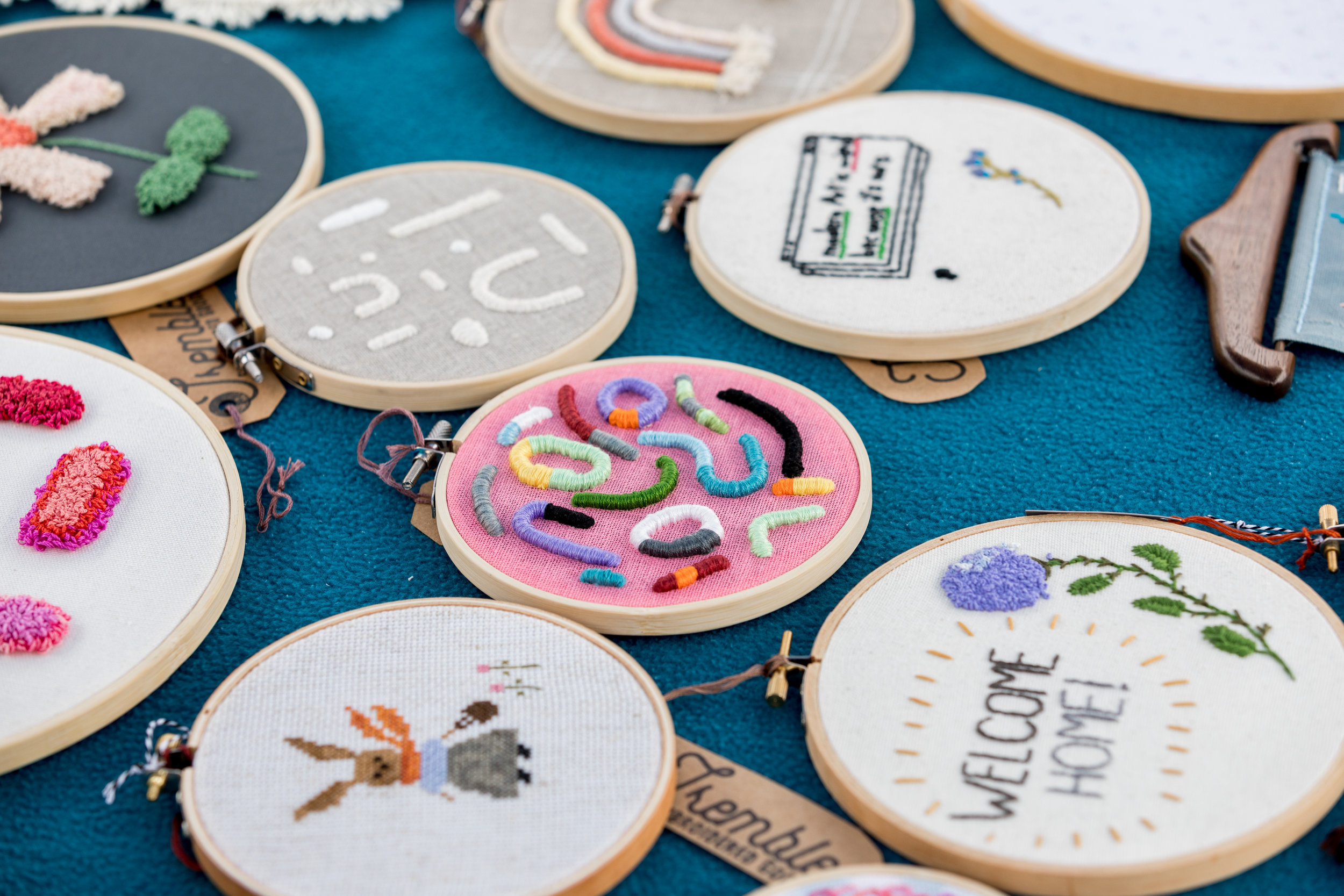 Tremble Hand Embroidery - Photo by Danielle Doepke