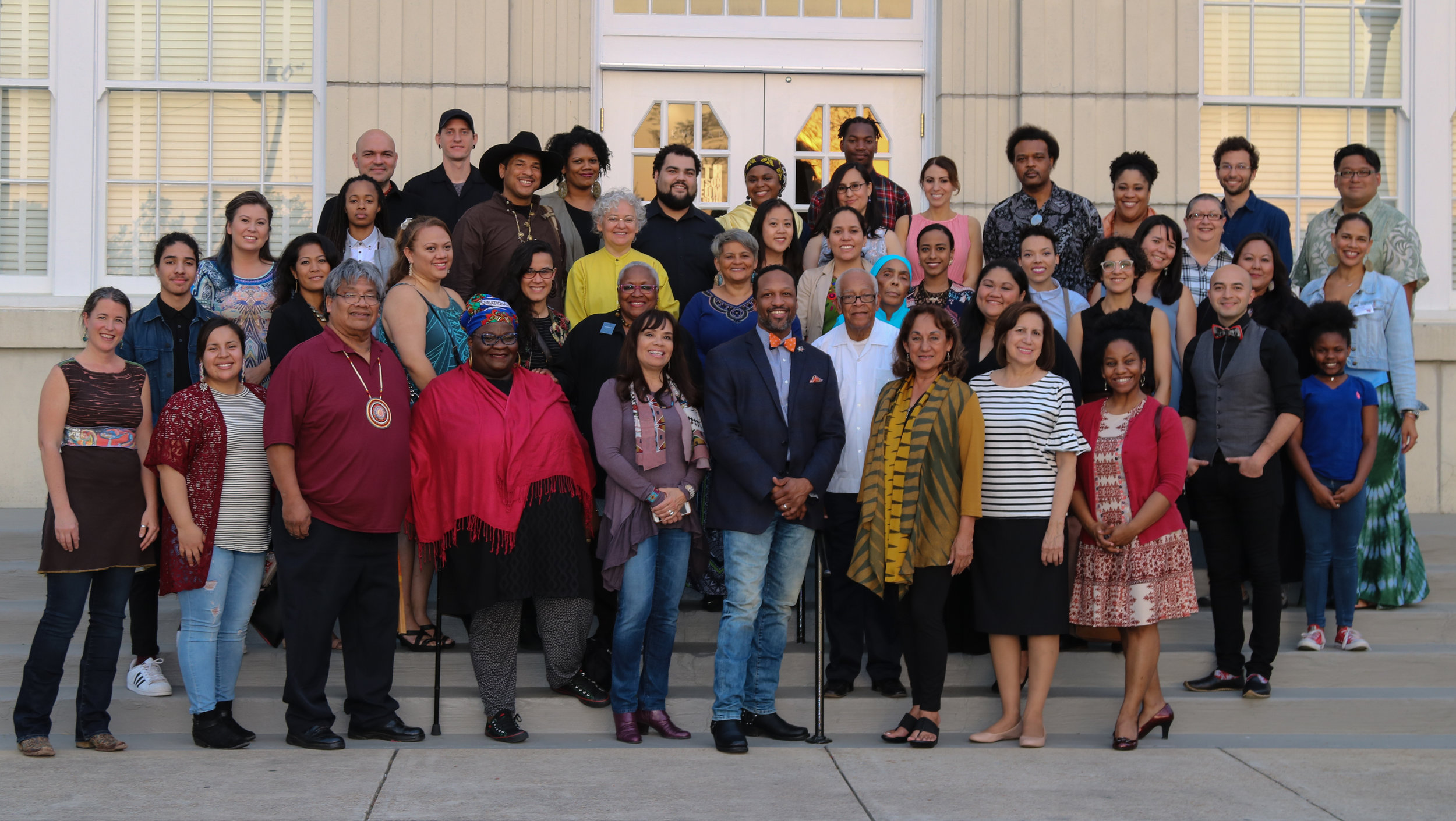 Inaugural ILI cohort, team & leadership at the Smith Robertson Museum and Cultural Center of African-American history in Jackson, Mississippi. (photo by Bryan Parker)