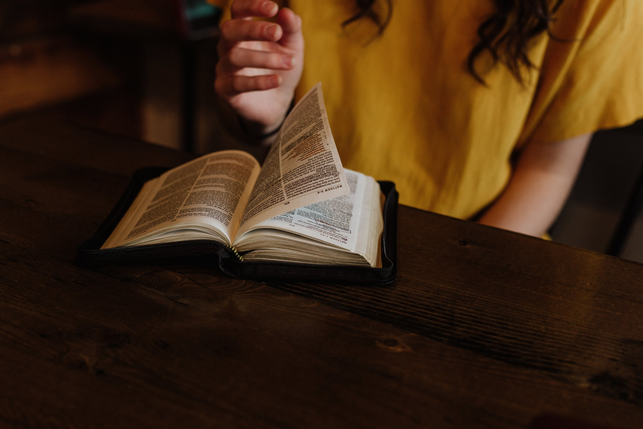 The Bible   The bible is the Holy inspired word of God.