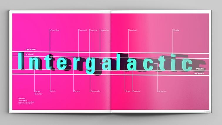 FRUTIGER  Typography Study