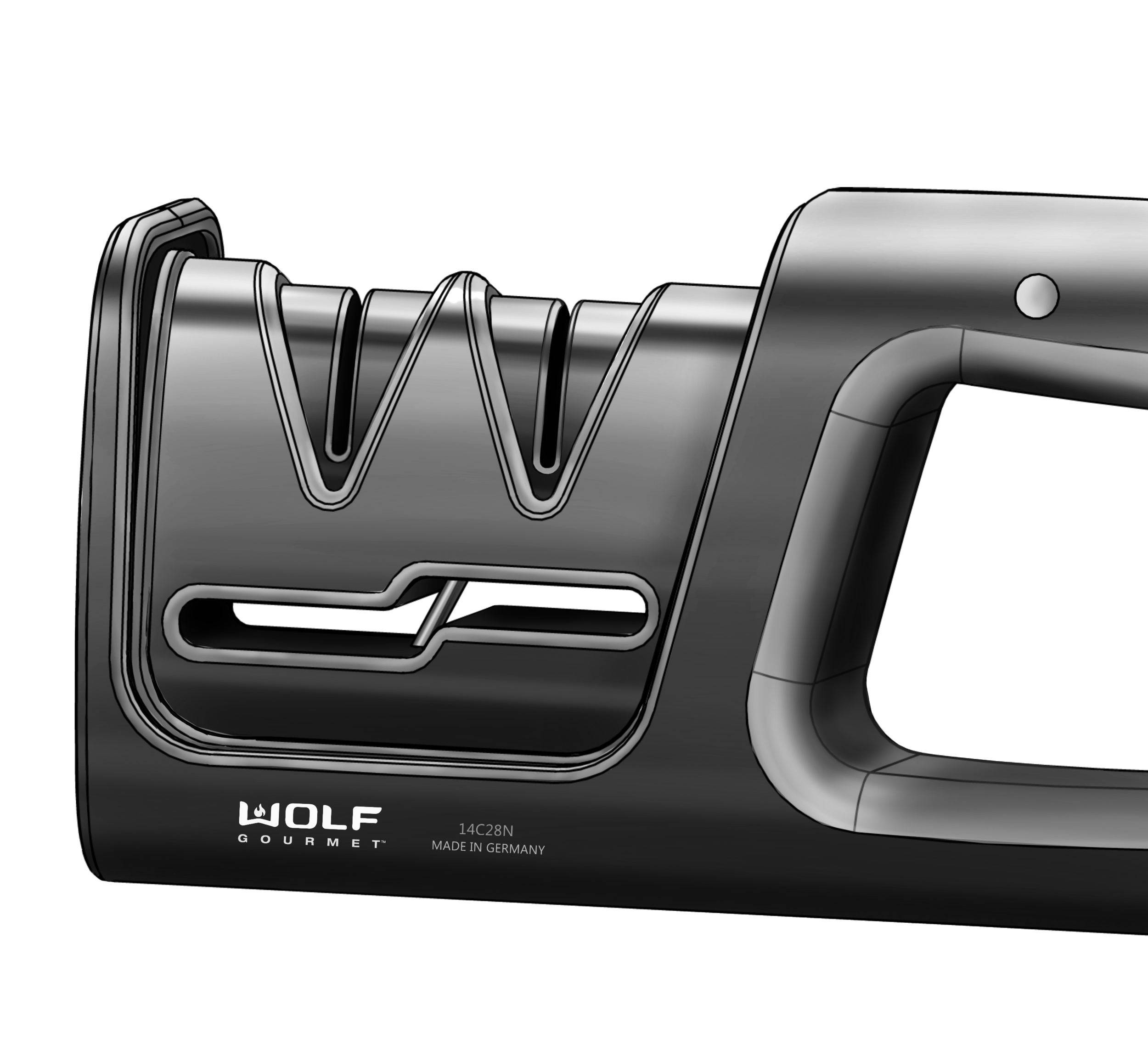 Knife Sharpener   Wolf Gourmet by Hamilton Beach (Internship Project)  Product Design