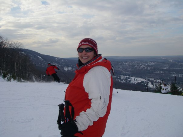 Me at 30 on the slopes.