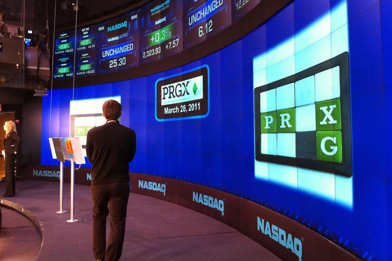 PRGX NASDAQ Launch