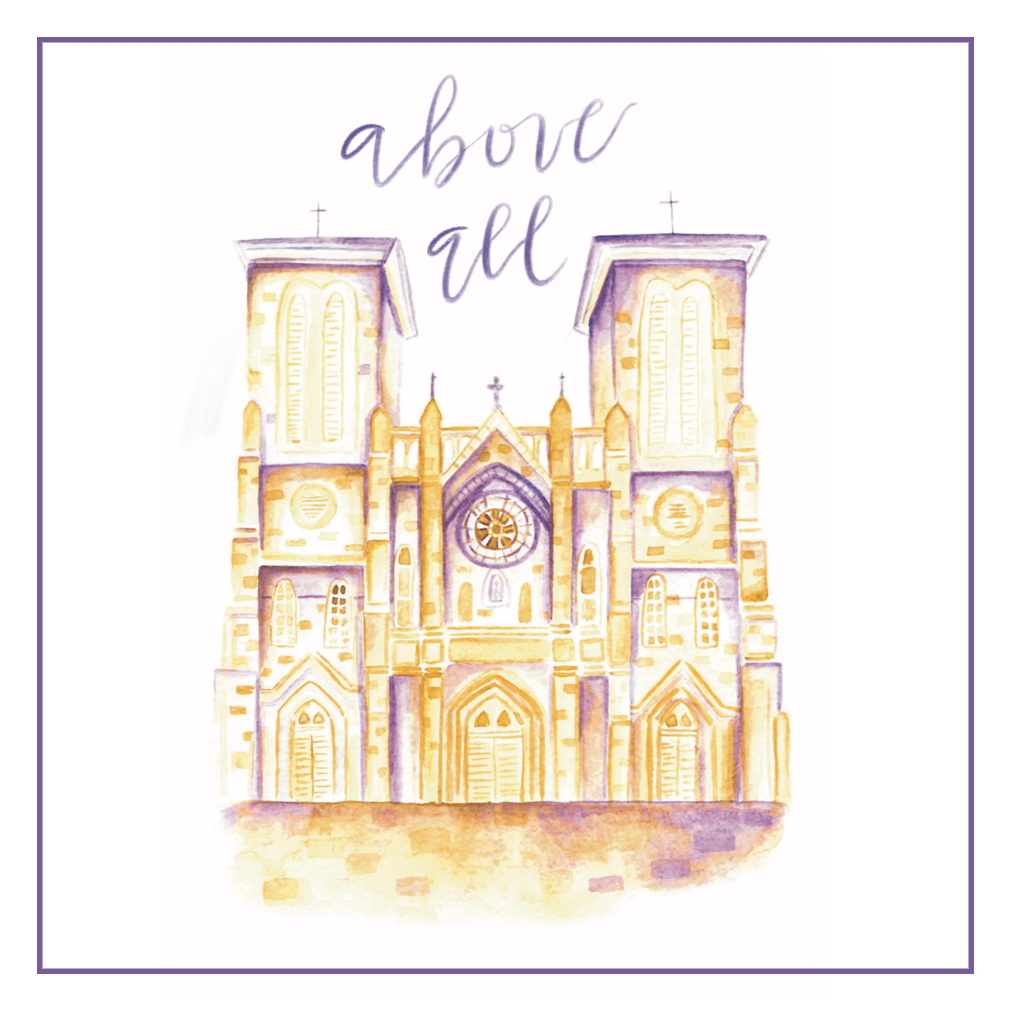 """Above All - is a Lenten devotional that includes daily Scripture passages as well as devotional essays, room to journal, and space to organize your time. There is a simple prompt for the ancient prayer form of Lectio Divina each day, and a separate page for the fifth stage, Actio, where the reader is encouraged to examine her conscience and offer forgiveness to herself and to others. Above All is designed to help you reflect on all aspects of your life, particularly those that you may have pushed to the back burner. It's filled with tools to help you discover which areas need greater care and tending, and is meant to inspire and motivate you to become your absolute truest self, so that come Easter, you can flourish as God intended. Readers who enjoyed """"Put on Love"""" last year will find similar themes and several familiar essays in this revised and much-expanded edition. Classic essays are nestled among new and expanded design and brand new content, including ten additional essays and lots of gorgeous art. The journal is undated and suitable for Lent any year and adaptable to any time of year. Read more here"""