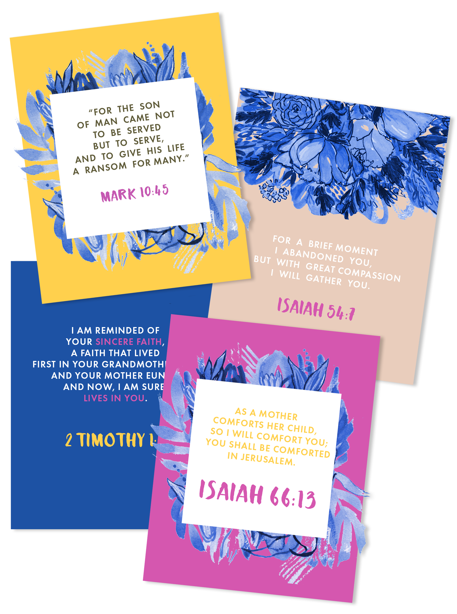 Scripture Memory Cards for Call Me Blessed -