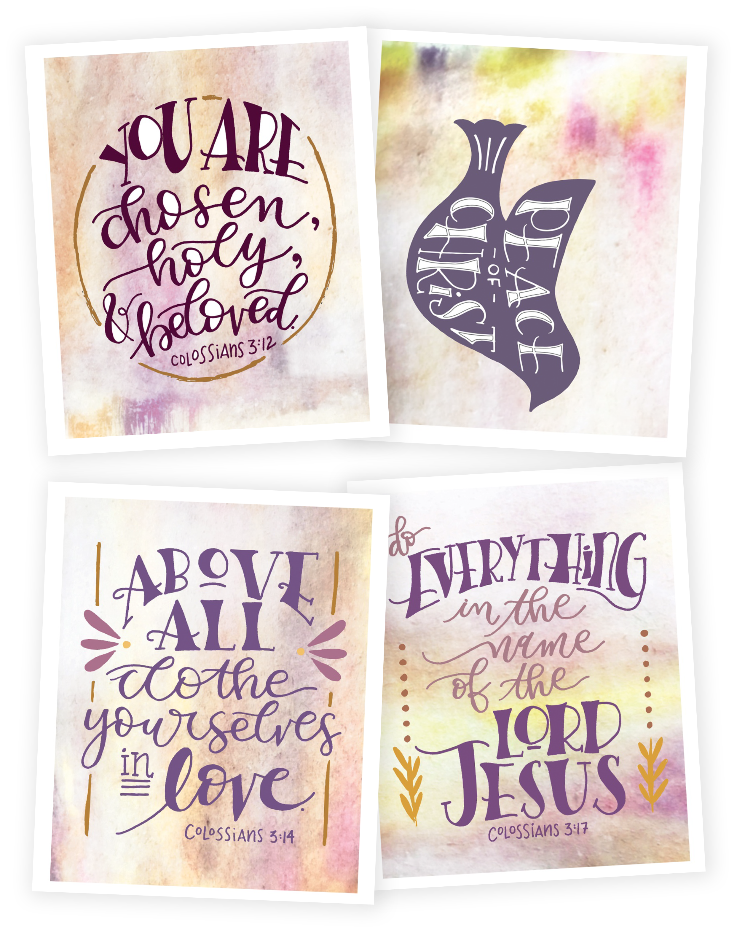 Scripture Memory Cards for Above All -