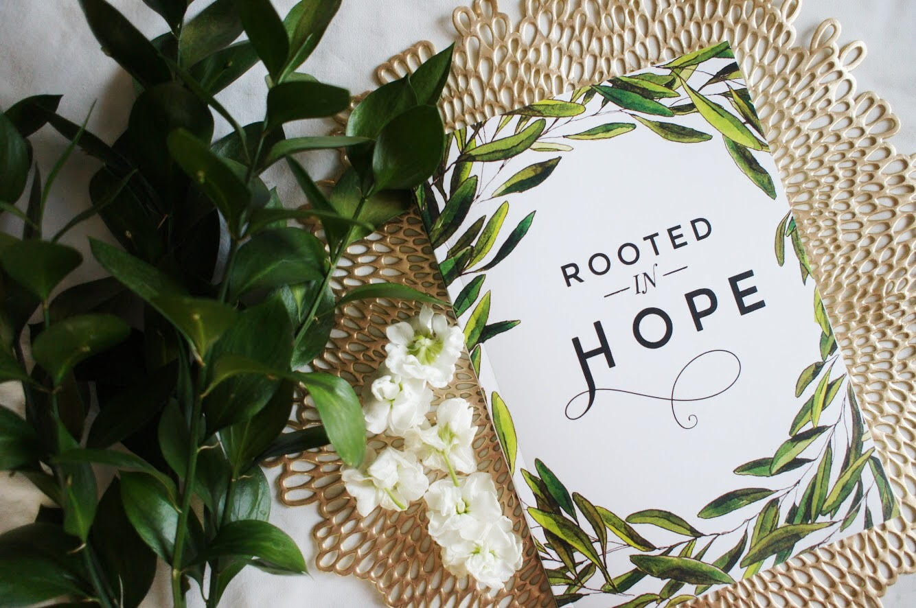 Gather a Group for Rooted in Hope - For each day, you'll find Scripture, a devotional essay, pages for guided lectio divina, and space to organize your days. Journaling pages and useful planning pages feature clear and elegant design, exquisite hand-drawn illustrations, and gorgeous calligraphy.