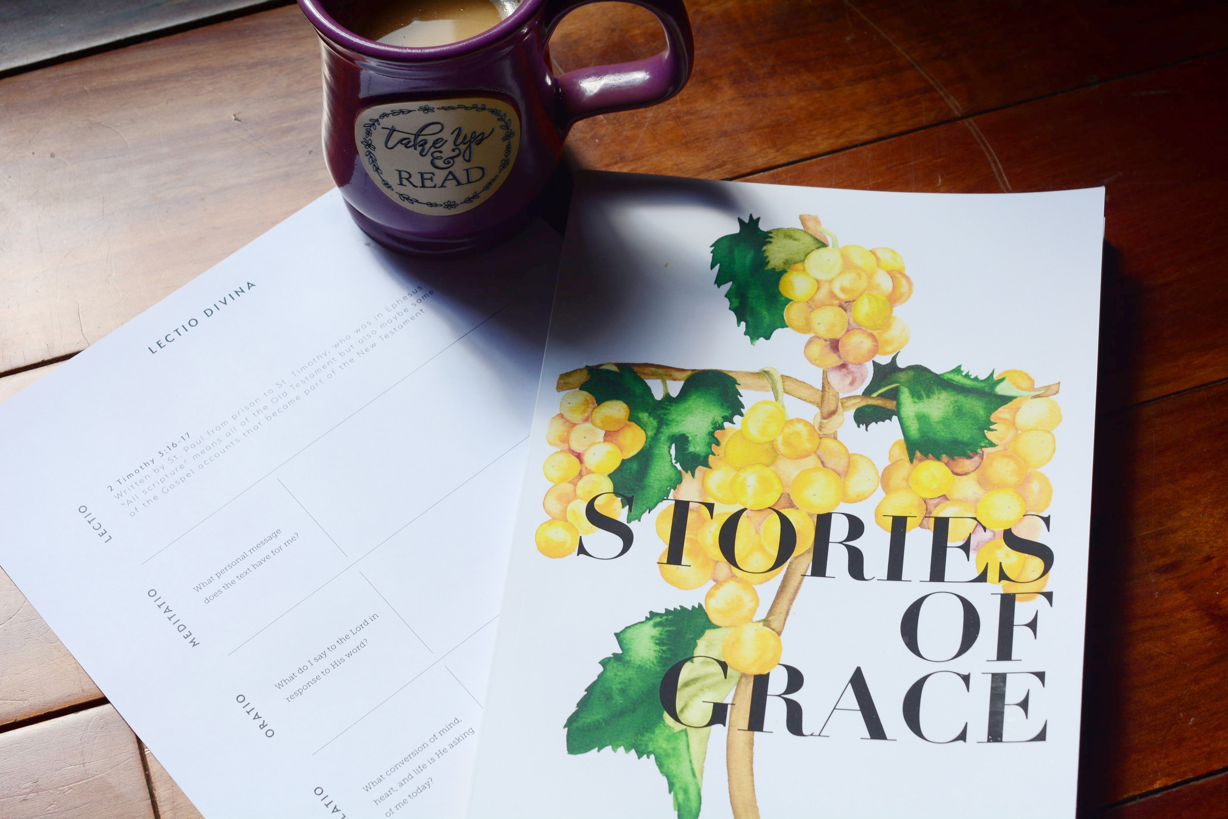 Gather a Group for Stories of Grace - This is a study of the parables Jesus told, complete with tools to help you have ears to hear. Along the way, we've provided meditation essays, journaling prompts, space for your notes and drawings, beautiful calligraphy pages, and prayers we will pray with you.