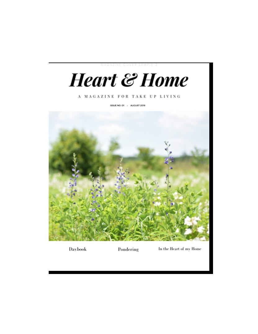 Heart & Home - Take Up & Read's digital magazine