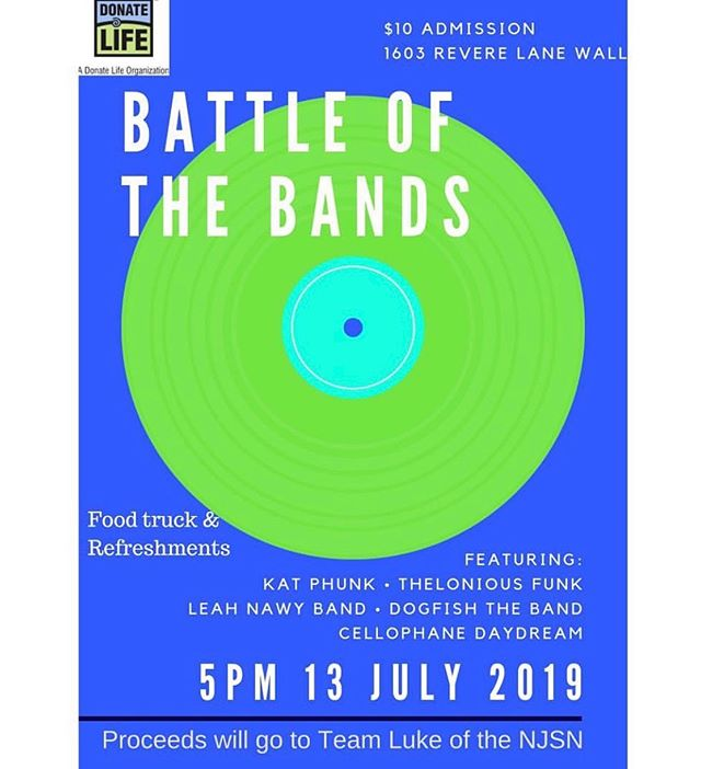 got ur saturday night plans . come listen to great bands and support a great cause at the same time . doors @ 5PM lnb w @slee.man @will.santoro and gehrig @ 7 !