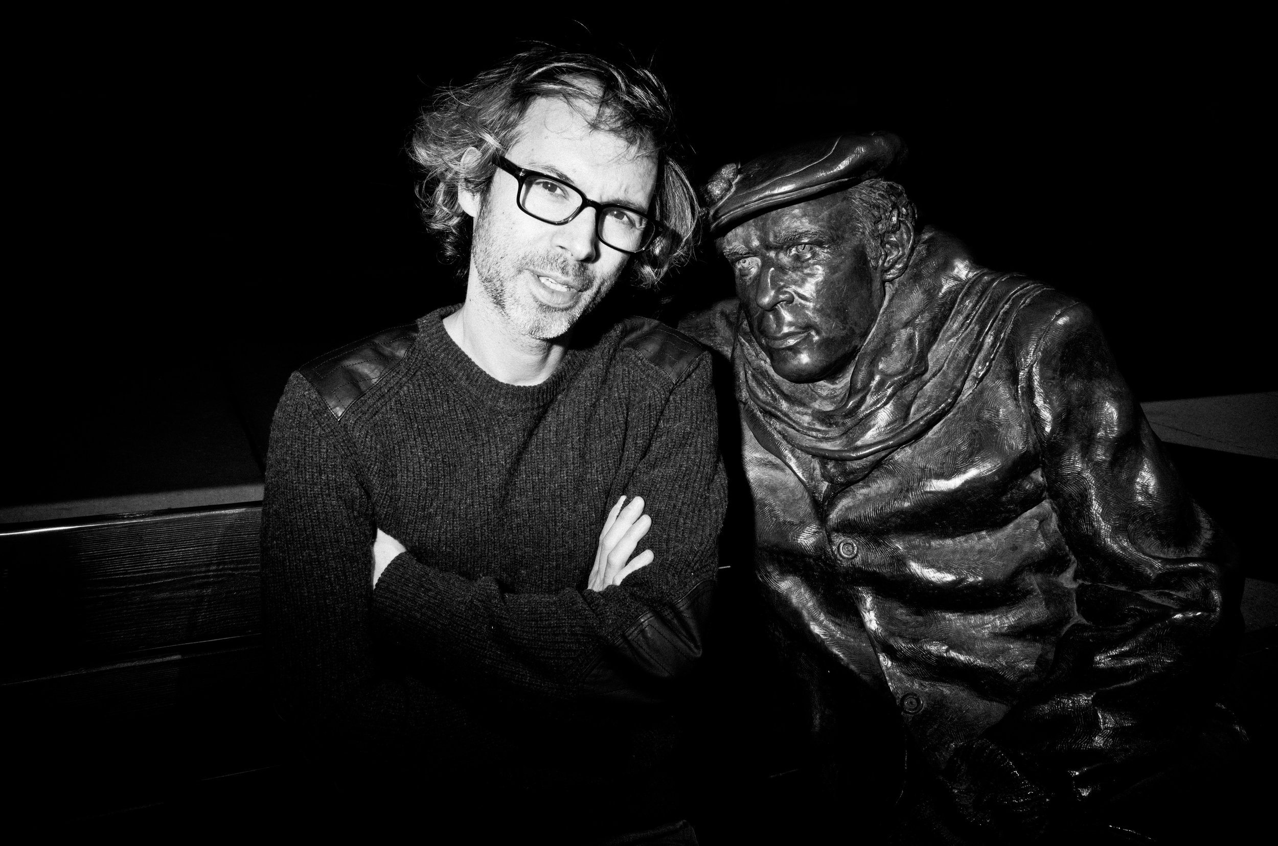 James Rhodes, Concert Pianist. Photographed for the Glenn Gould Foundation.