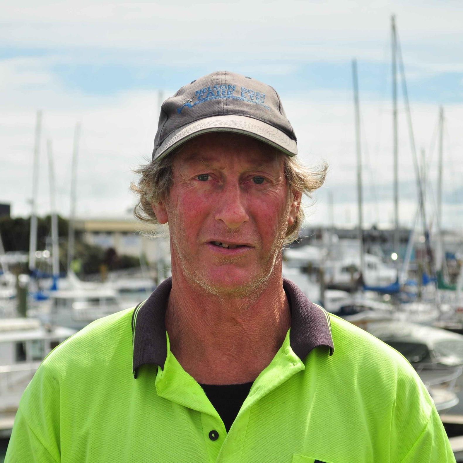 Pete O'Donoghue   Travel Lift Operator