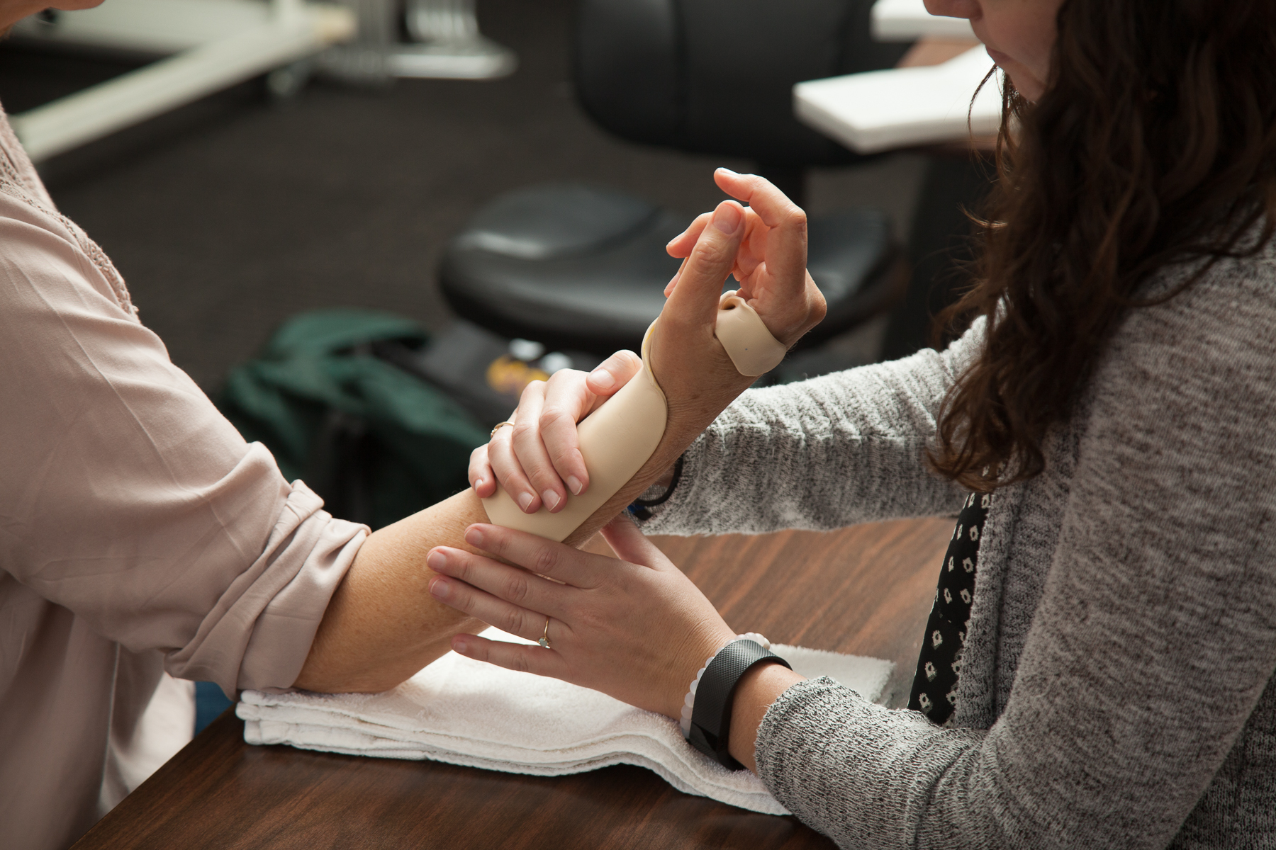 Our specialized staff are Physical or Occupational therapists with advanced certification in hand therapy and ergonomics.