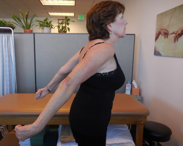 BILATERAL SHOULDER STRETCH